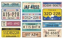 Automobile Plate License. Utah...