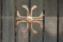 Iron Cross In The Church Gate
