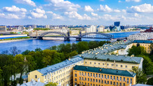 Bolsheokhtinsky Bridge  (Big O...