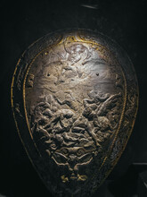 Ancient Warrior Shield In Egypt
