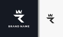 Crown Letter R Logo