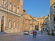 Italy, Marche, Osimo, the Comune square.