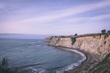 California Coastal Cliffside