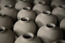 Pots On A Market Stall