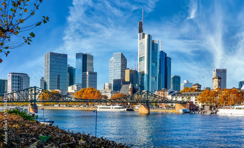 Photo Skyline Frankfurt am Main