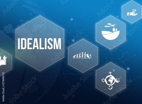 Fototapeta idealism