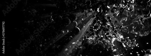 Fototapeta 3D rendering of digital technology concept ready for banner background obraz