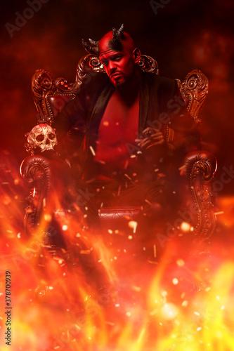 Photo demon in purgatory