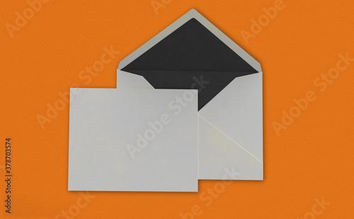 Fotografía letter 3d rendering mockup