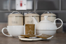 One Person China Tea Set Compr...