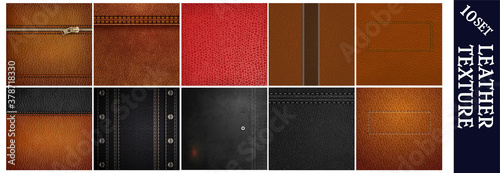 Leather texture Wallpaper Mural