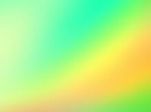 Green Yellow Defocus Abstract ...