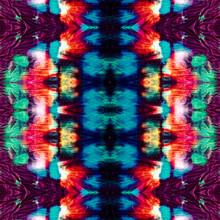 Dip Dye Effects. Rainbow Eleme...