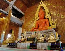 Luang Po Mongkhon Nimit Buddha Statue, Wat Charoen Rat Bamrung(Nong Pong Nok).