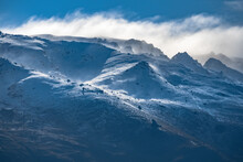 Snow Covered Mountains In Quee...