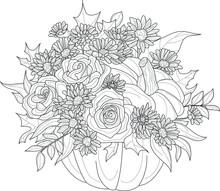 Realistic Mix Flower Bouquet W...
