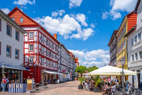 Altstadt von Eschwege, Hessen, Deutschland Tapéta, Fotótapéta