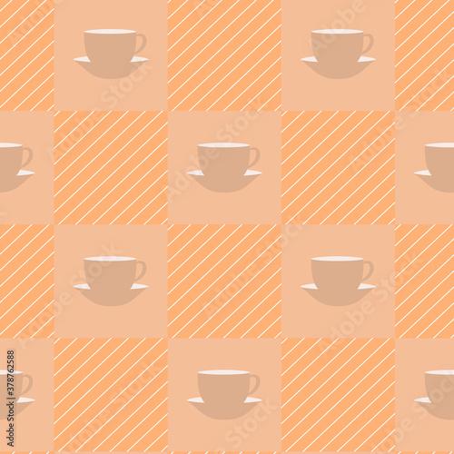 Fototapeta Seamless texture tablecloth