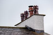 Old Chimney Pot On Chimney In ...