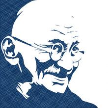 Vector Illustration Of 2nd October- Gandhi Jayanti.