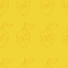 Cartoon Lemon Character Get Ze...
