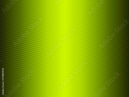 Green gradient geometric background in origami style Canvas Print
