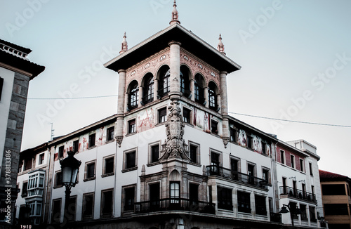 Fotomural Old building of basque country.