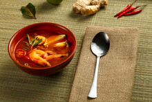 Tom Yam Soup With Shrimp And L...