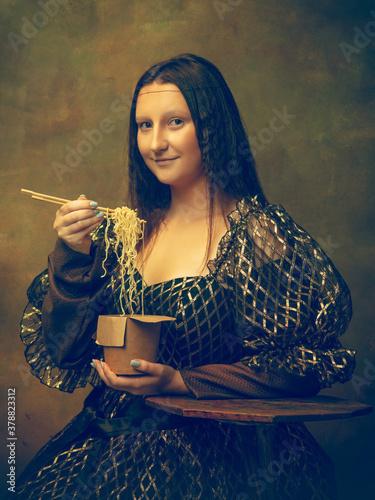 Cuadros en Lienzo Instant noodles