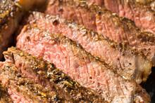 Grass Fed Cooked Ribeye Steak