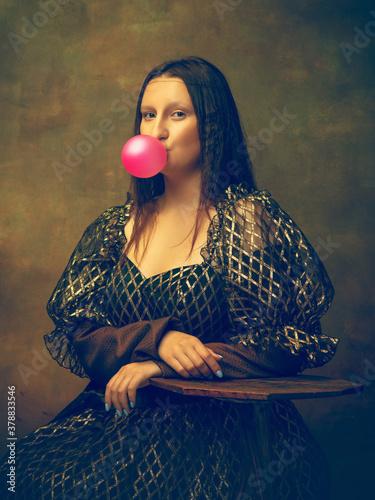 Bubble gum Canvas Print