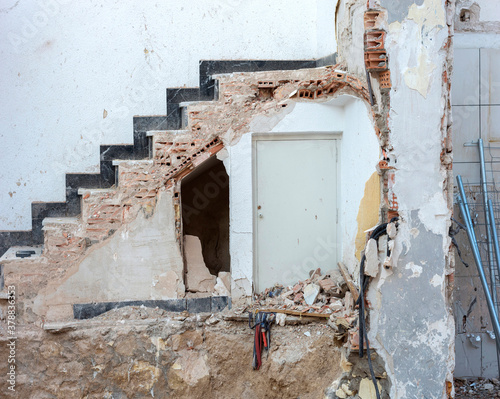 Hideaway under the hidden ladder Canvas Print