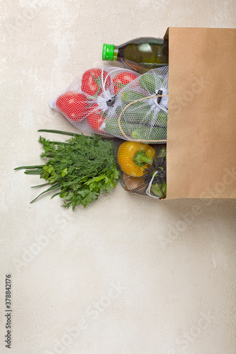 vegetables fruits, ordering food, fresh fruits, hand holding, grocery store, pap Fototapet