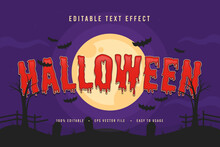 Decorative Halloween Font And Alphabet Vector