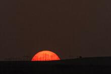 Transmission Lines At Sunrise ...