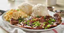 Hawaiian Bbq Plate With Barbec...