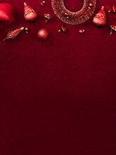 Red Christmas Decoration Baubl...