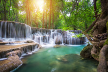 Huay Mae Khamin Waterfall In T...