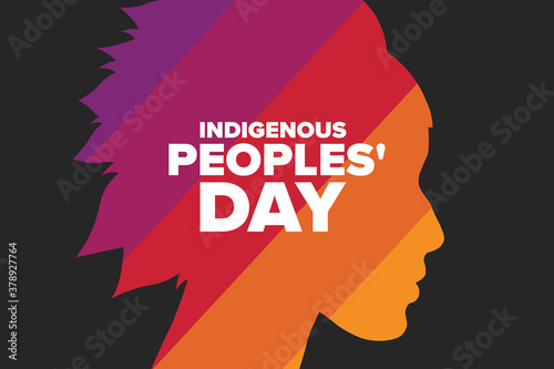 Indigenous Peoples Day Canvas-taulu