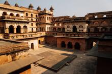 Orchha Fort Raja Mahal In Orch...