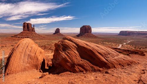 Obraz monument valley - fototapety do salonu