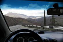 Tourism. Travel By Car. View O...
