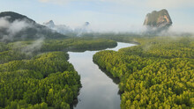 Aerial View Of Samet Nangshe I...