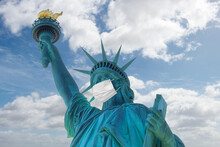 Statue Of Liberty With A Prote...