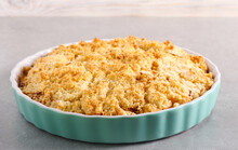 Pear Cake With Crumble Topping