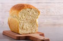 Homemade White Bread, Sliced