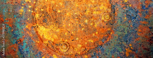 Rusty metal Canvas