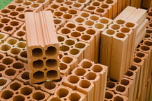 Ceramic Brick For Use In Home Construction