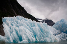 Icebergs From South Sawyer Glacier, Tracy Arm, Alaska