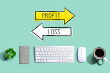 Profit Or Loss With A Computer...